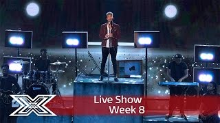 Matt sings from the rooftops with Secret Love Song PT. II | Live Shows Week 8 | The X Factor UK 2016