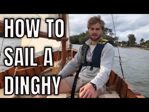 How to sail a dinghy. The best way to get a feel for sailing.