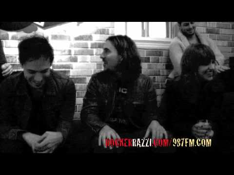 AIRBORNE TOXIC EVENT INTERVIEW BY JARED SAGAL