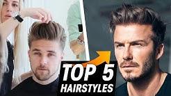 Best David Beckham Hairstyles - Mens Hair Inspiration