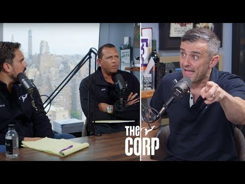 Alex Rodriguez and Big Cat Interview Entrepreneur Gary V - The Corp