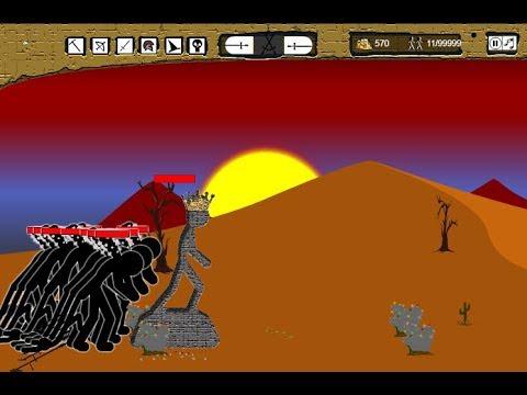 Stick War Hacked - Full GamePlay [PC VERSION]