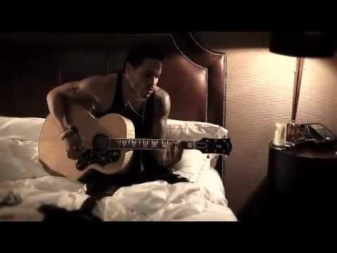 Lenny Kravitz STAND (Acoustic) in hotel bedroom