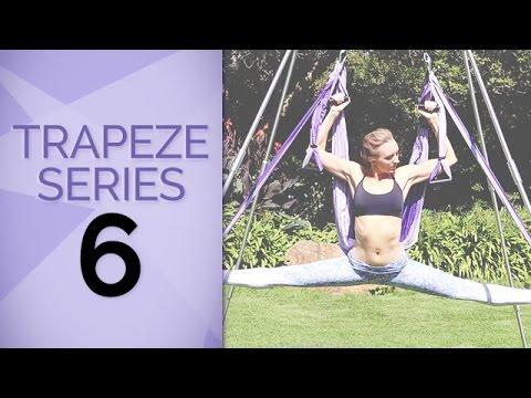 Yoga Trapeze Tutorial #6:  Intermediate Yoga Trapeze Flow - Inversion Therapy