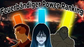 Power Ranking - Wer ist der stärkste Feuerbändiger? | Avatar - Der Herr der Elemente (Deutsch)