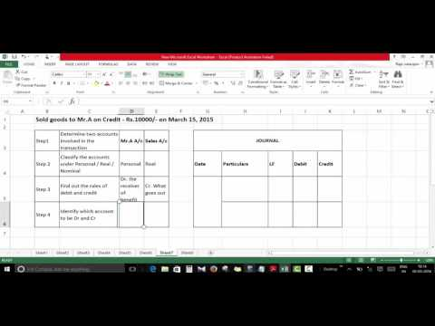 Accounting Entry For Credit Sales