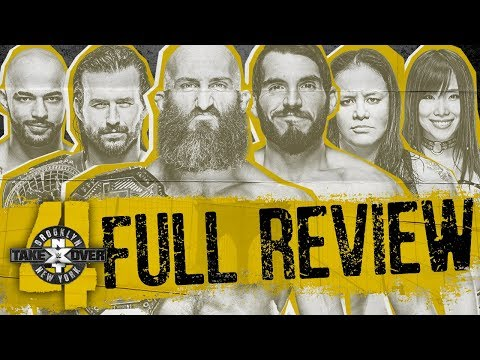 NXT Takeover Brooklyn 4 Review & Recap