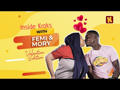 MORY & FEMI BAKRE Play The How Well Do You Know Your Partner Game | Inside Kraks