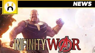 Avengers Infinity War Thanos Moon Throwing Scene REVEALED