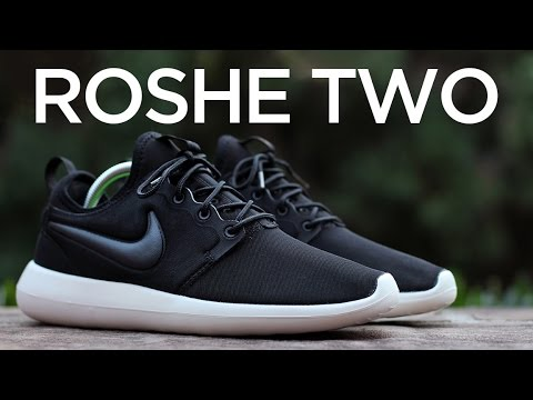 89557f6c104 Closer Look  Nike Roshe Two - Black Sail - YouTube