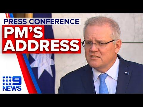 Coronavirus: PM Announces Boost To Mental Health Funding | 9News Australia