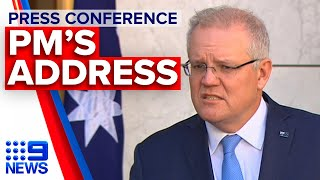 Coronavirus: PM announces boost to mental health funding | 9News Australia