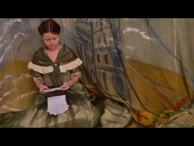 Изображение предпросмотра прочтения – «Театральная студия Азбука театра» читают произведение «Она сидела наполу…» Ф.И.Тютчева