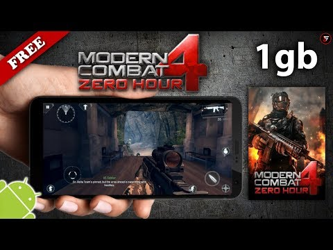 How to install Modern Combat 4: Zero Hour for all android devices || Offline game