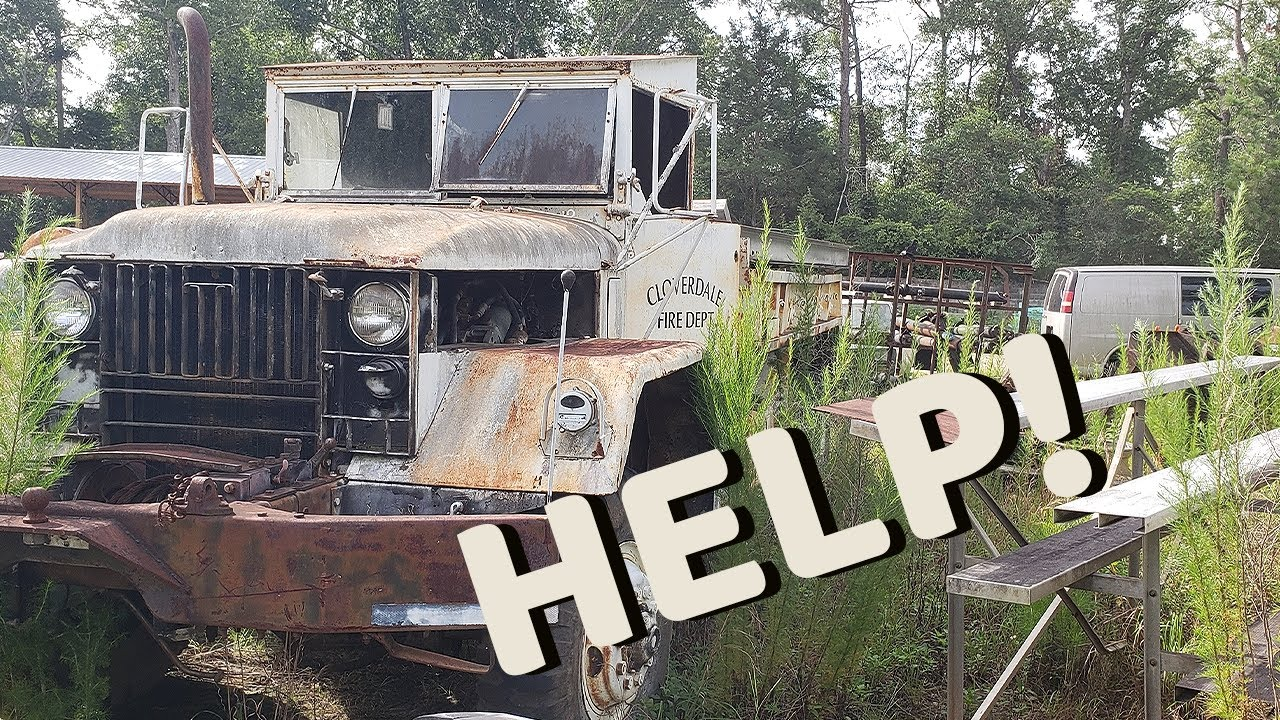 WILL IT START? I Need YOUR Help On This Army TRUCK