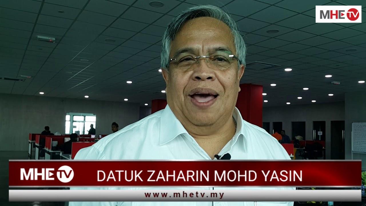 Pesan Datuk Zaharin Mohd. Yasin kepada peserta-peserta himpunan membantah  (ICERD) - YouTube