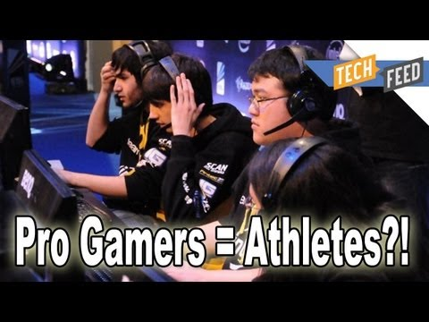 League of Legends Pro Gamers = Athletes?!