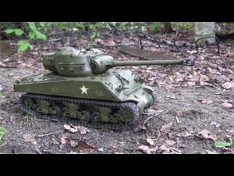 1/16 RC M4(90) Sherman / pershing hybrid prototype tank part 3 of 3, final chapter