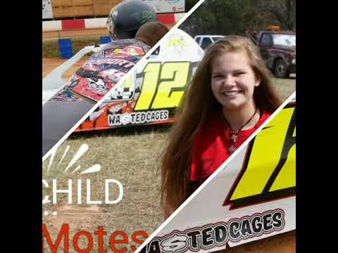 2018 Season - Alexus Motes - Carolina Speedway, East Lincoln Speedway,  Lancaster Speedway