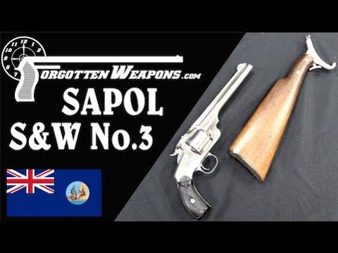S&W's Pistol-Carbine for the South Australian Police