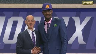 DeAndre Ayton Drafted 1st Overall By The Suns In 2018 NBA Draft!