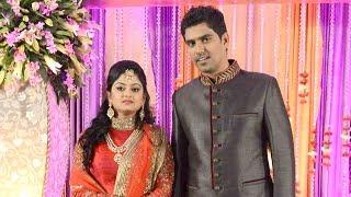 Actor Suriya's Cousin S R Prabhu and Deepthi wedding reception