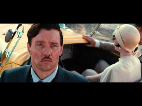The Great Gatsby Racing Scene