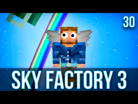 EXTRA UTILITIES 2 ANGEL RING | SKY FACTORY 3 | EPISODE 30