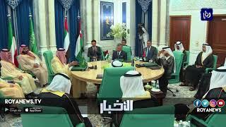 جلالة الملك يجري مباحثات مع أمير دولة الكويت لتوسيع قاعدة التعاون المشترك