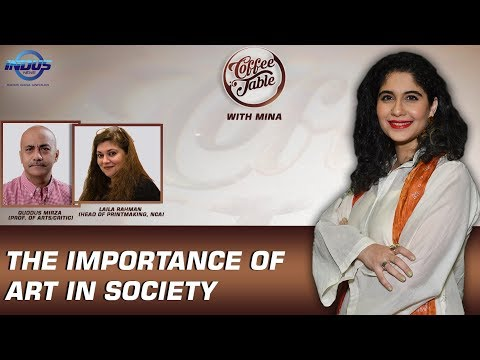 The Importance of Art in Society | Episode 123 | Indus News