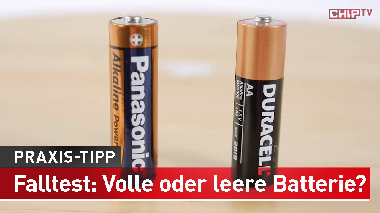 Batterie Testen