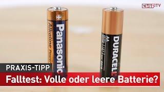 Batterie testen ohne Messgerät - Praxistipp | CHIP
