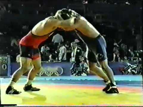 2000 Olympic Games: 97 kg Gabriel Szerda (AUS) vs. Dean Schmeichel (CAN)