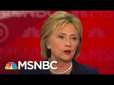 Hillary Clinton: We Have To Send Putin A Clear Message | Democratic Debate | MSNBC