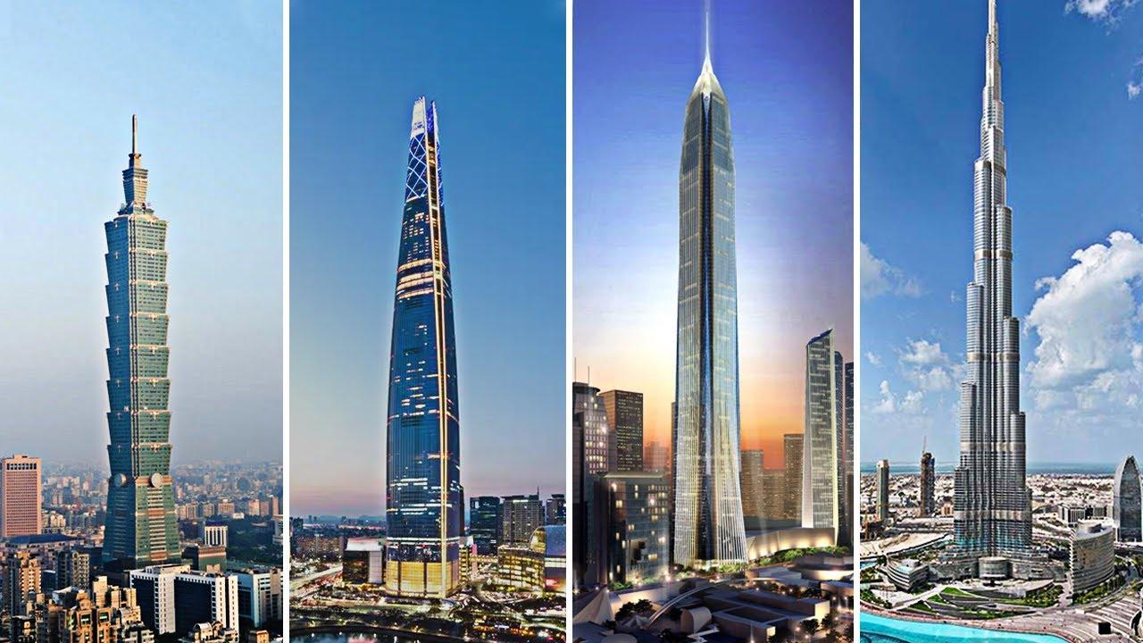 10-те највисоки градби во светот