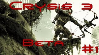 let s play crysis 3 multiplayer beta hunter mode auf airport deutsch hd