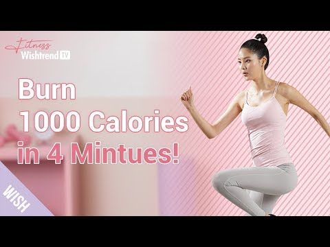 Full Body Workout From Abs to Thighs | Burning 1000 Calories at Home in Just 4 Minutes!