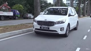 Kia Grand Carnival 2.2 EX 2017 - Roda Pusing Review