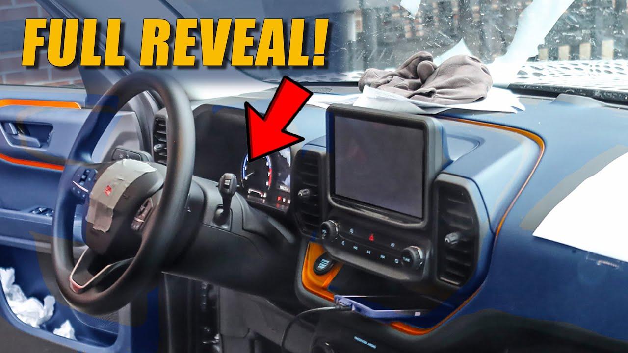 Ford Bronco Sport Interior No Camo Full Info Youtube