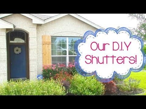 Our DIY Window Shutters