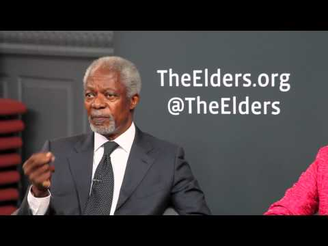 "Kofi Annan: ""We cannot keep consuming as if there's no tomorrow"""
