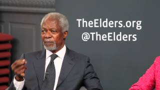 "Kofi Annan: ""We cannot keep consuming as if there"