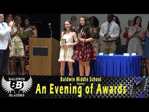 Baldwin Middle School presents an Evening of Awards (BMS Academic Awards)