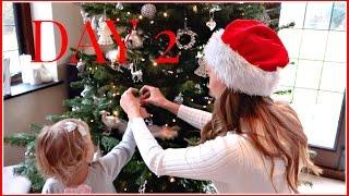 DECORATING THE CHRISTMAS TREE  | VLOGMAS #2