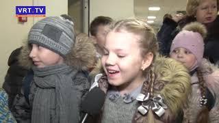 Ирина Слуцкая и Фиксики поздравили с Новым годом наших ребят.