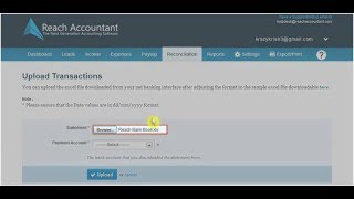 How to Use Reconciliation Tab - Reach Accountant