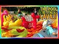 THE POOL IS LAVA! | OUR FIRST POOL PARTY | We Are The Davises の動画、YouTube動…