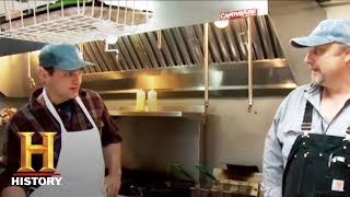 Ax Men - Flipping Burgers   History