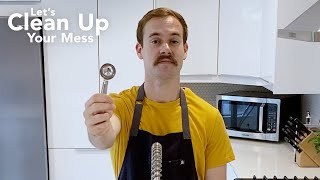 How to Clean: Tablespoon Measuring Cup  Let&#39s Clean Up Your Mess