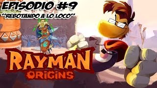 Rayman Origins Walkthtough Episodio 9 Rebotando a lo Loco